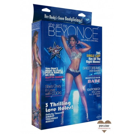 Sexy Shop BAMBOLA DELL'AMORE GONFIABILE BEYONCE
