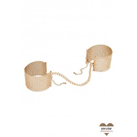 Sexy Shop DESIR METALLIQUE HANDCUFFS GOLD