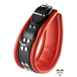 COLLAR RED 6,5 CM