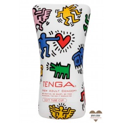 Sexy Shop MASTURBATION TENGA KEITH HARING - SOFT TUBE CUP