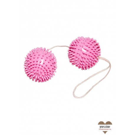 Sexy Shop GIRLY GIGGLE LOVE BALLS HOT PINK