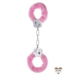 MANETTE PELUCHE ROSA FURRY FUN