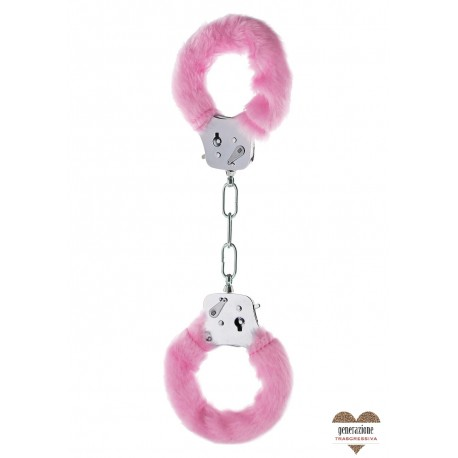 Sexy Shop FURRY FUN CUFFS PINK PLUSH
