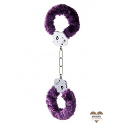Sexy Shop FURRY FUN CUFFS PURPLE PLUSH