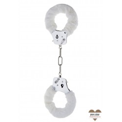 Sexy Shop FURRY FUN CUFFS WHITE PLUSH