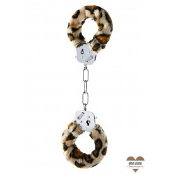 Sexy Shop FURRY FUN CUFFS LEOPARD PLUSH