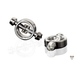 PD METAL WORX MAGNETIC NIPPLE CLAMP