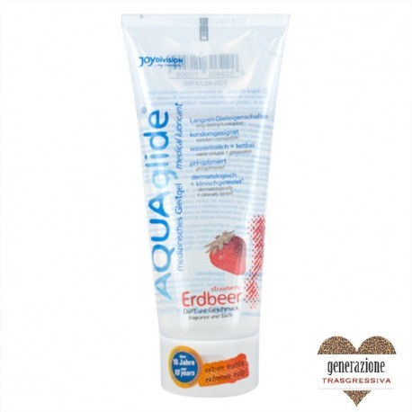 Sexy Shop LUBRIFICANTE AQUAGLIDE FRAGOLA 100 ML