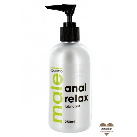 Sexy Shop LUBRIFICANTE ANALE MALE COBECO ANAL RELAX 250 ml