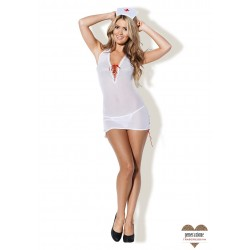 Sexy Shop THE SEXY NURSE WHITE S/M
