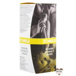 Sexy Shop STIMUL8 SPANISH INTIMACY DROPS 30ML