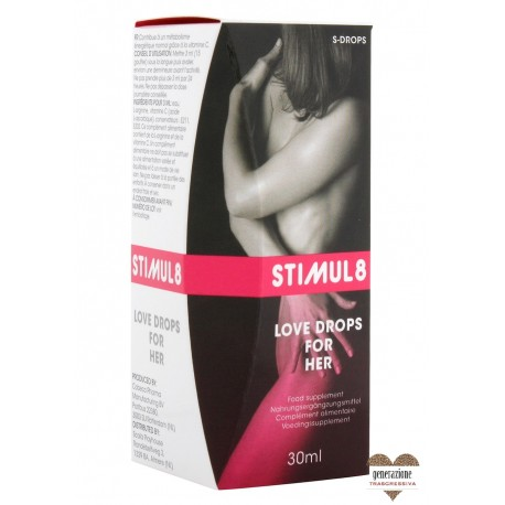 Sexy Shop STIMUL8 LOVE DROPS FOR HER 30ML