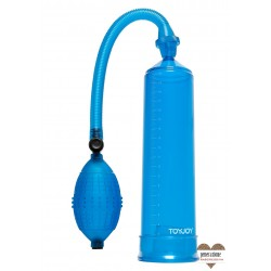 Sexy Shop SVILUPPATORE PER PENE A POMPA POWER PUMP BLUE