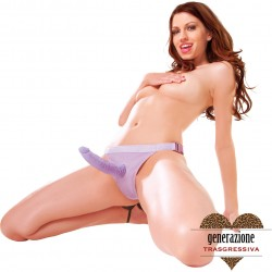 FALLO REALISTICO INDOSSABILE STRAP-ON FETISH FANTASY SERIES TRU-FIT STRAPON