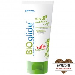 "LUBRIFICANTE VAGINALE ANALE BIO 100% NATURALE CON CARRAGENINA ""BIOGLIDE"" 100 ML BIOLOGICO"