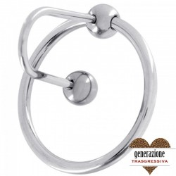 Sexy Shop SPERMSTOPPER SONDA URETRALE 8MM CON ANELLO PER GLANDE
