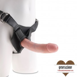 Sexy Shop KING COCK FALLO INDOSSABILE REALISTICO 21,5 X 4,6 CM
