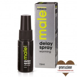Sexy Shop MALE DELAY SPRAY WARMING 15 ML